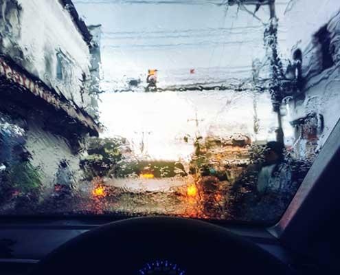 Rijden bij slecht weer